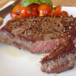 Simple Bison Ranch Steak
