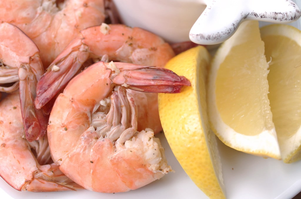 Boiled Shrimp & The Best Cocktail Sauce Ever