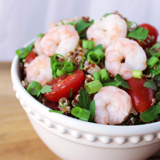 Quinoa Shrimp Salad