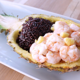 Piña Colada Shrimp Boats