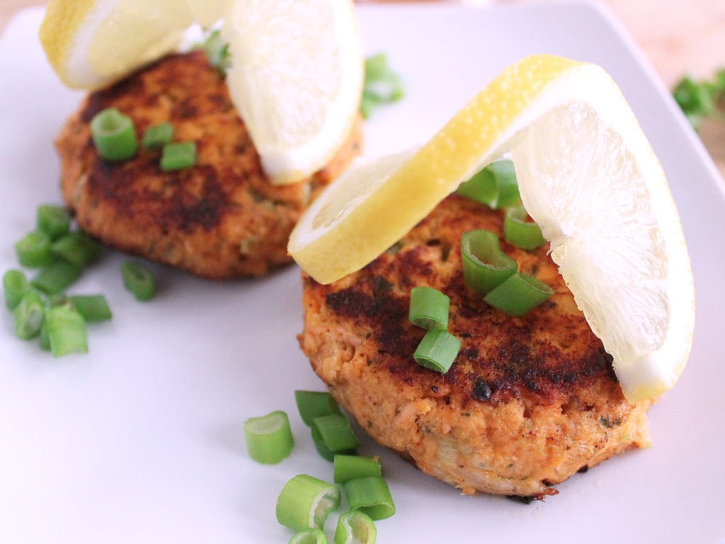 Paleo Salmon Cakes Recipe | Kit's Coastal | #kitscoastal #coastalpaleo