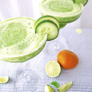 Skinny Cucumber Margaritas (150 calories)