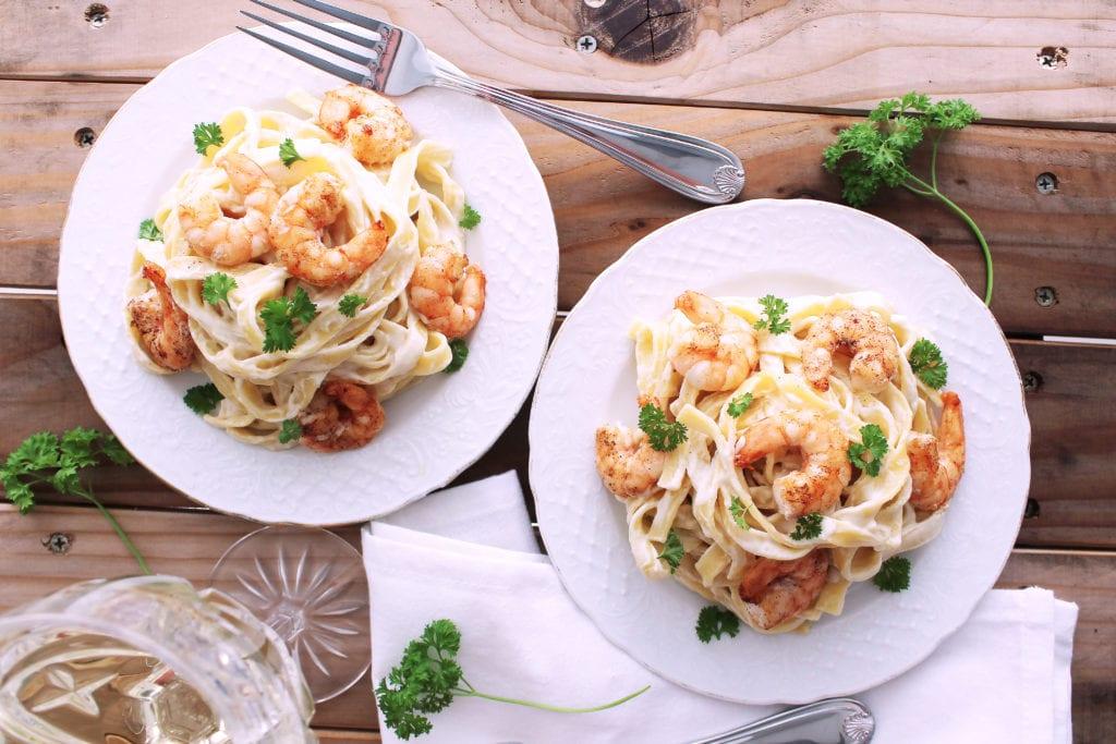 Paleo Shrimp Alfredo | Kit's Coastal | #kitscoastal #coastalpaleo #paleo #primal #glutenfree #dairyfree #healthy