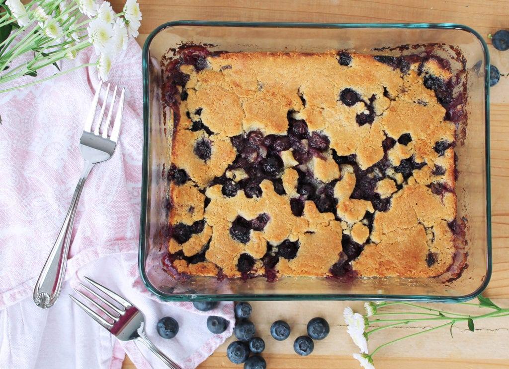 Paleo Blueberry Cobbler | Kit's Coastal | #kitscoastal #coastalpaleo #paleo #primal #glutenfree #dairyfree