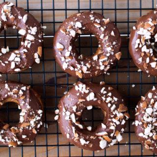 Paleo Banana Bread Doughnuts