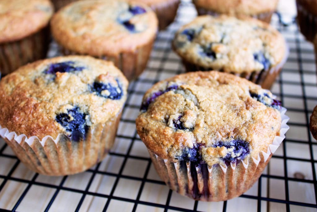 Paleo Blueberry Coconut Muffins | Kit's Coastal | #kitscoastal #coastalpaleo #paleo #glutenfree #dairyfree #muffins