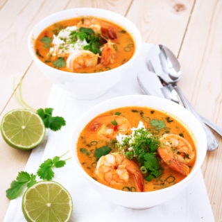 Paleo Thai Shrimp Soup