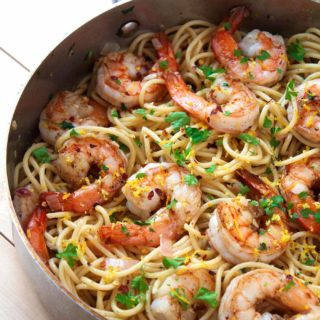 20-minute Paleo Shrimp Scampi