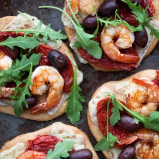 Paleo Shrimp Flatbread