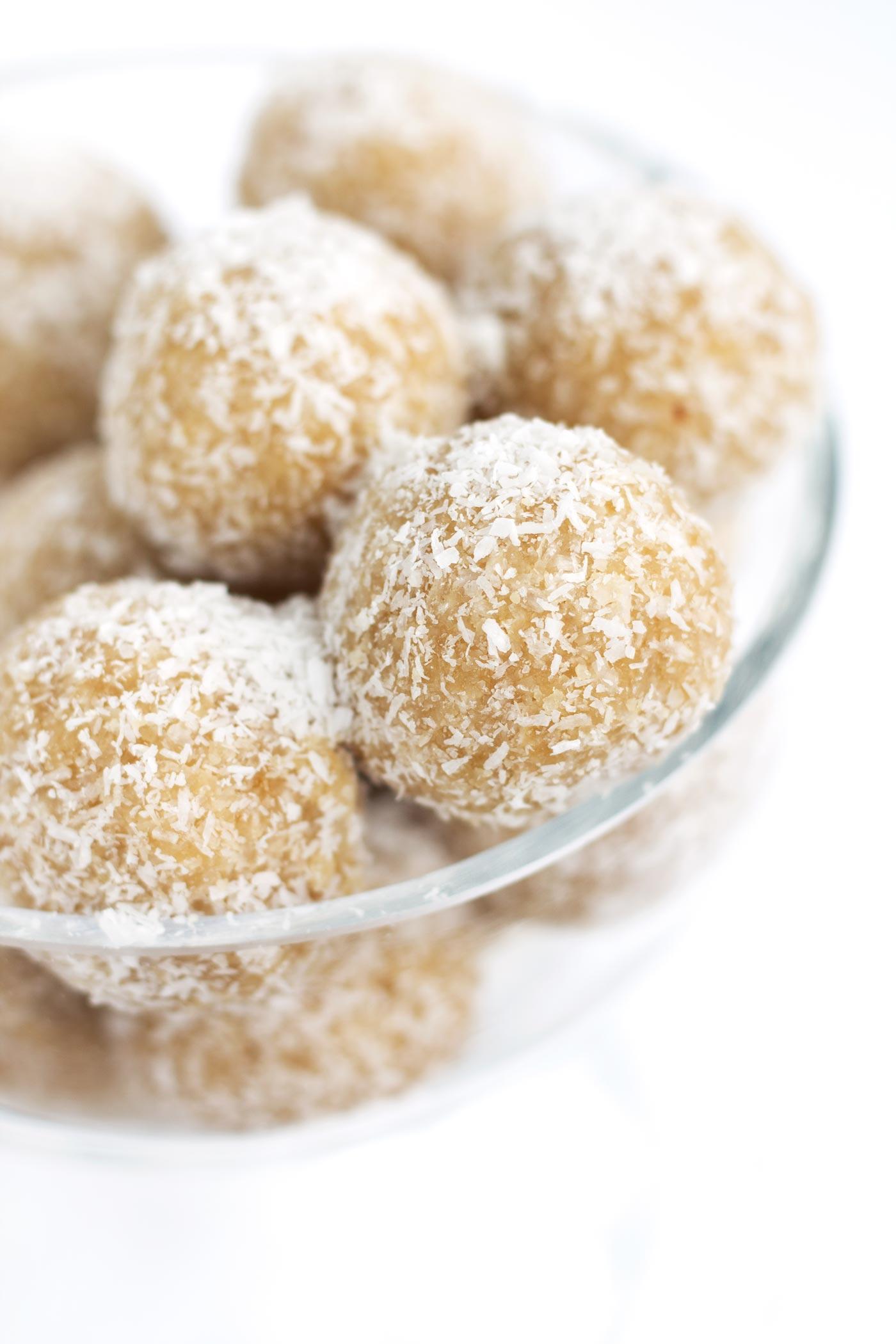 Low Carb Coconut Snowball Cookies Kit S Coastal