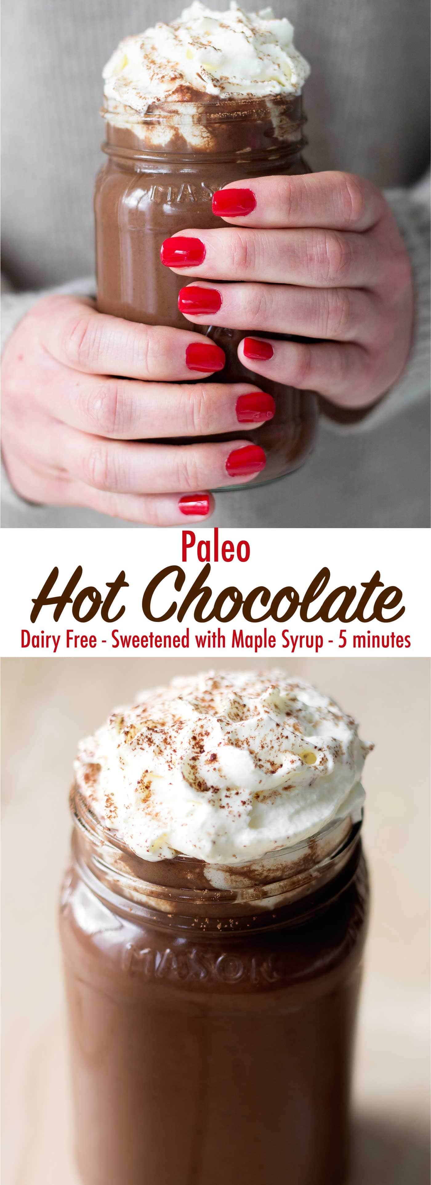 Paleo Hot Chocolate - Kit's Coastal