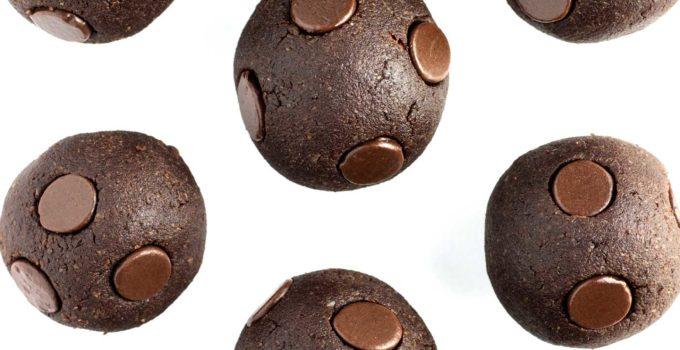 5-minute Chocolate Chip Brownie Bites
