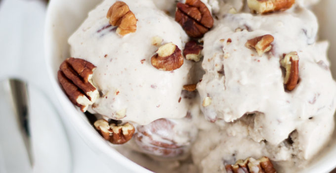 Maple Bourbon Pecan Ice Cream