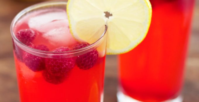 Sugar Free Raspberry Lemonade