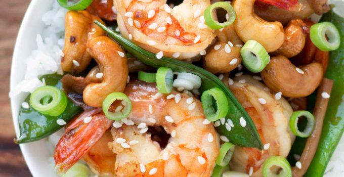 Easy Cashew Shrimp Stir-fry