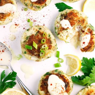 Lemon Caper Fish Cakes