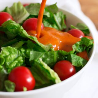 Roasted Red Pepper Vinaigrette