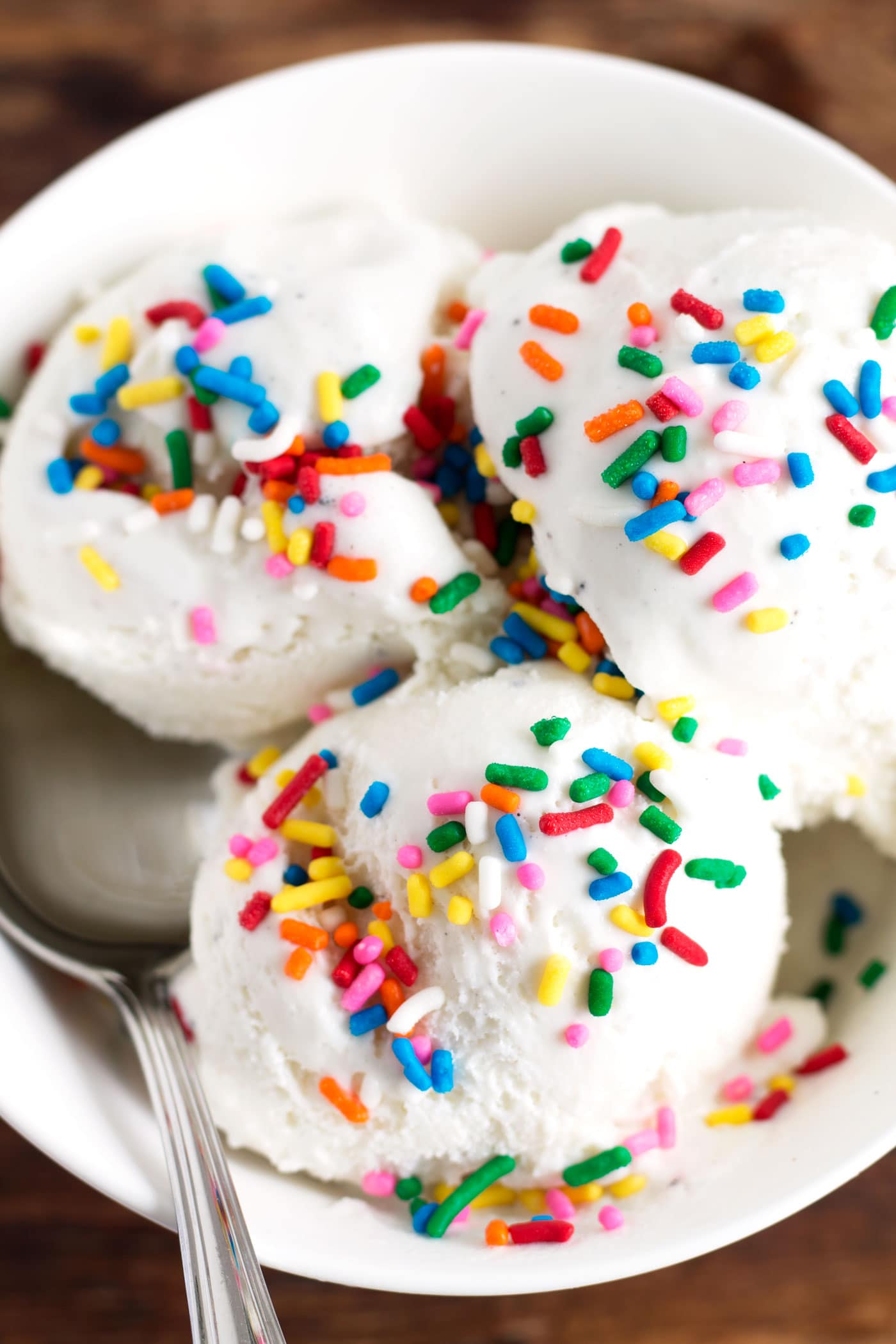 This Healthier Birthday Cake Ice Cream Has No Added